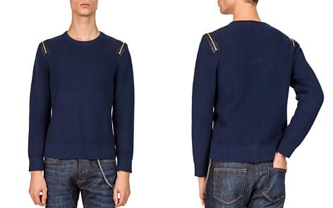 The Kooples Zip-Shoulder Sweater - Bloomingdale's_2