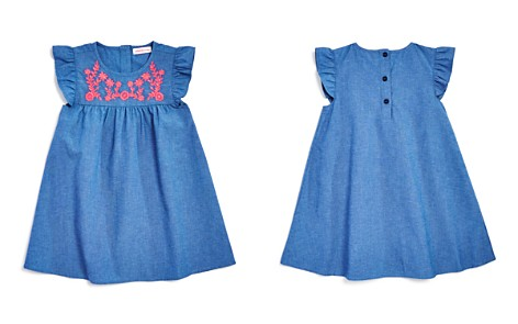 Design History Girls' Embroidered Chambray Dress - Little Kid - Bloomingdale's_2