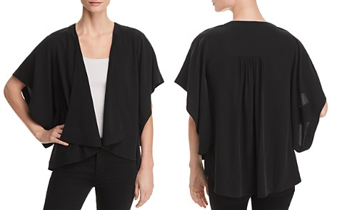 Eileen Fisher Drape-Front Kimono Jacket - 100% Exclusive - Bloomingdale's_2