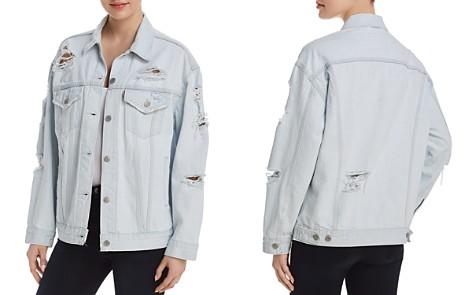 Levi's Baggy Trucker Denim Jacket in Thin Ice - 100% Exclusive - Bloomingdale's_2
