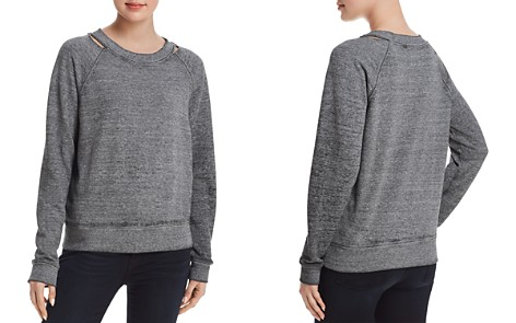 Joe's Jeans The Isabella Distressed Sweatshirt - Bloomingdale's_2