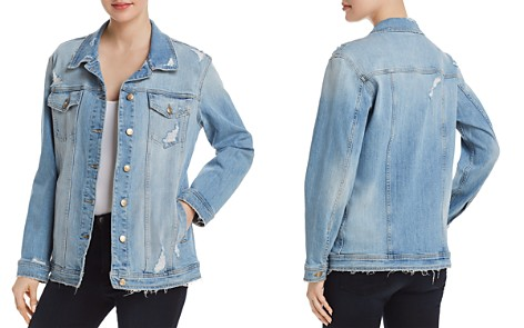 Joe's Jeans Oversize Denim Jacket in Memrie - Bloomingdale's_2