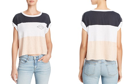 rag & bone/JEAN Color-Block Cropped Tee - Bloomingdale's_2