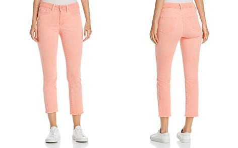 NYDJ Petites Sheri Slim Frayed Ankle Jeans in Pale Desert Flower - 100% Exclusive - Bloomingdale's_2