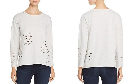 Design History Distressed Sweatshirt - Bloomingdale's_2