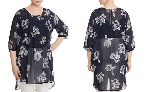JUNAROSE Sheer Floral-Print Tunic - Bloomingdale's_2