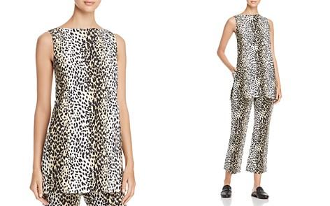 Weekend Max Mara Nino Leopard-Print Cutout Tunic - Bloomingdale's_2