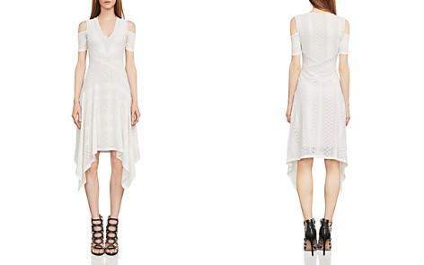 BCBGMAXAZRIA Odette Cold-Shoulder Lace Dress - Bloomingdale's_2