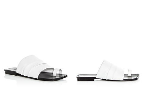 Sigerson Morrison Women's Abbe Leather Slide Sandals - Bloomingdale's_2