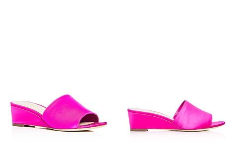 Loeffler Randall Women's Tilly Satin Wedge Slide Sandals - Bloomingdale's_2