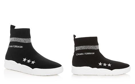 Chiara Ferragni Women's Stretch Knit High Top Sneakers - Bloomingdale's_2