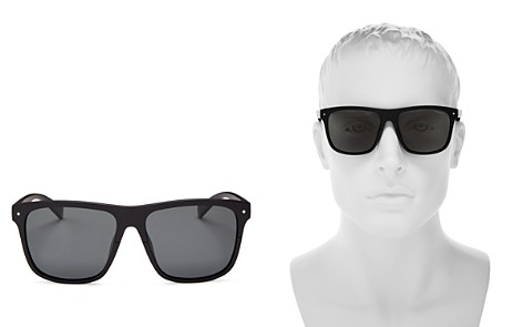 Polaroid x Nintendo Men's Flat Top Square Sunglasses, 58mm - 100% Exclusive - Bloomingdale's_2