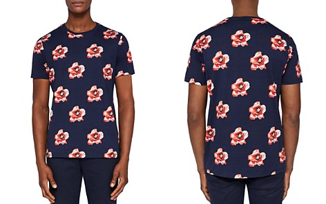 Ted Baker Limited Edition Bluepop All Over Flower Tee - Bloomingdale's_2