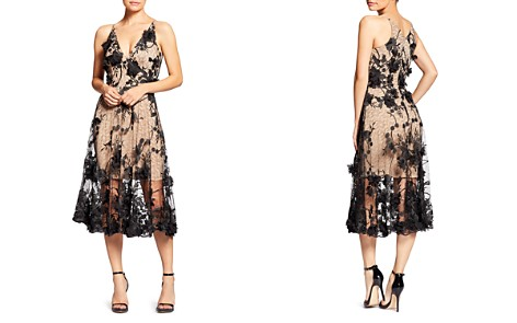 Dress the Population Audrey Floral Midi Dress - Bloomingdale's_2