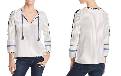 Lisa Todd The Escape Embroidered Tassel Sweater - Bloomingdale's_2