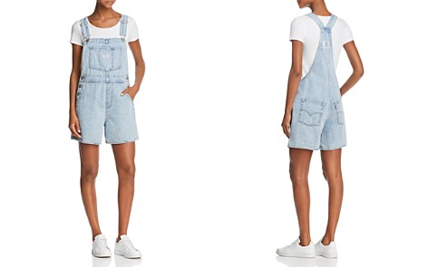 Levi's Vintage Denim Shortalls in Walk Away - Bloomingdale's_2
