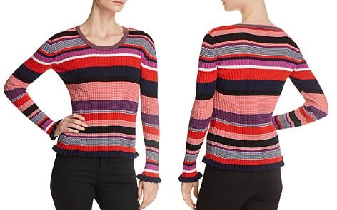BOSS Fallegria Ribbed Stripe Top - Bloomingdale's_2