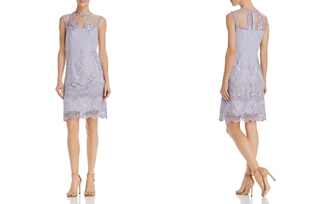 nanette Nanette Lepore Lace Shift Dress - Bloomingdale's_2