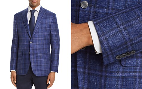 Jack Victor Plaid with Windowpane Classic Fit Sport Coat - Bloomingdale's_2