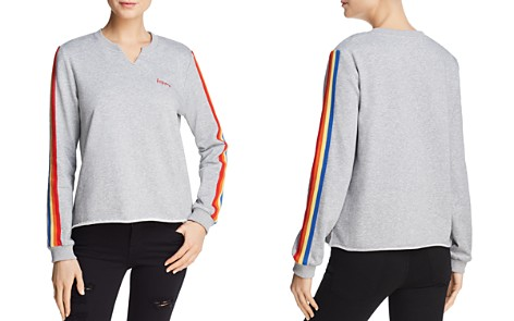 Honey Punch Rainbow-Trim Sweatshirt - 100% Exclusive - Bloomingdale's_2