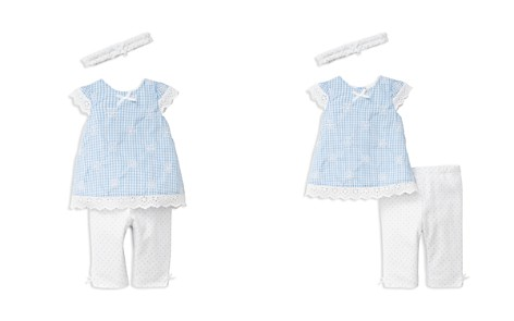 Little Me Girls' Gingham Eyelet Woven Tunic - Baby - Bloomingdale's_2