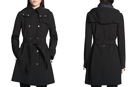 Calvin Klein Double-Breasted Snap Front Trench Coat - Bloomingdale's_2