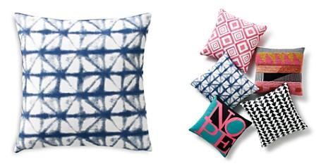 "Sparrow & Wren Shibori Diamond Decorative Pillow, 20"" x 20"" - 100% Exclusive - Bloomingdale's_2"