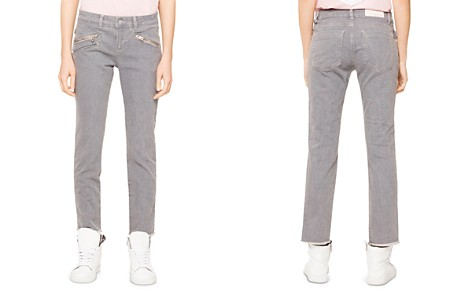 Zadig & Voltaire Ava Skinny Jeans in Gray - 100% Exclusive - Bloomingdale's_2