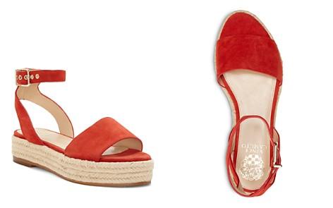 VINCE CAMUTO Women's Kathalia Leather Platform Espadrille Sandals - Bloomingdale's_2