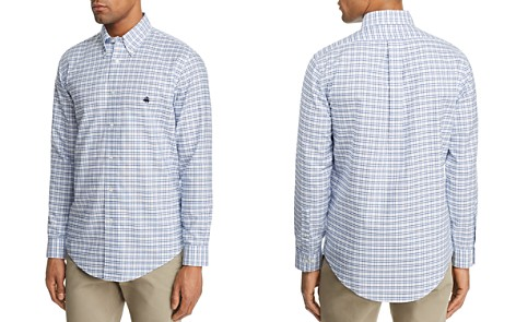 Brooks Brothers Plaid Regular Fit Button-Down Shirt - Bloomingdale's_2