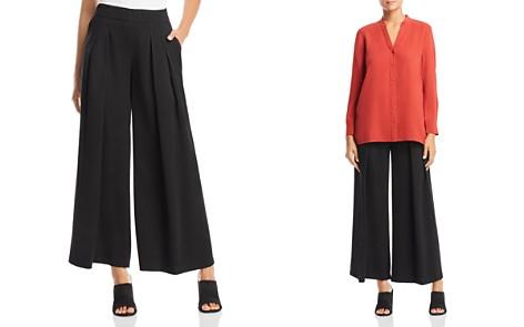 Eileen Fisher Pleated Wide-Leg Pants - Bloomingdale's_2
