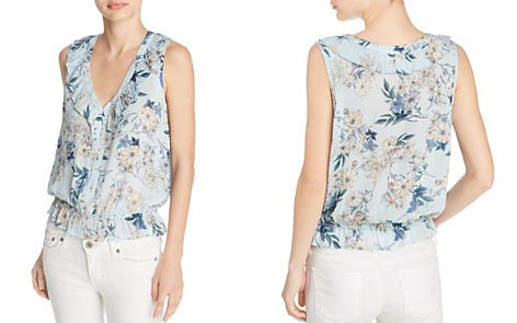 Beltaine Printed Ruffle Top - 100% Exclusive - Bloomingdale's_2