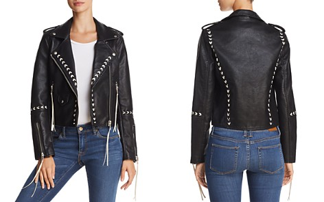 BLANKNYC Stitched Faux Leather Moto Jacket - Bloomingdale's_2