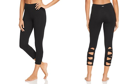 Marc New York Performance Strappy Cutout Cropped Leggings - Bloomingdale's_2