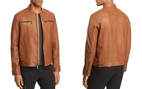 John Varvatos Star USA Moto Leather Jacket - 100% Exclusive - Bloomingdale's_2