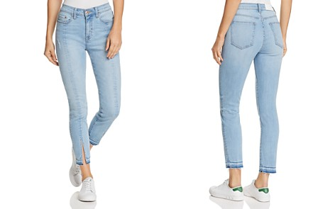 Pistola Demi High-Rise Slit Cigarette Jeans in Almost Famous - Bloomingdale's_2