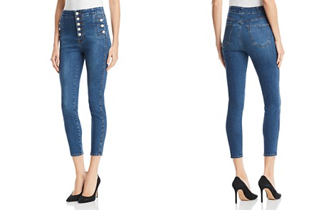 J Brand Natasha Sky High Skinny Crop Jeans in Lovesick - Bloomingdale's_2
