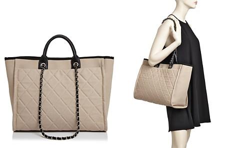 AQUA Canvas Tote Bag - 100% Exclusive - Bloomingdale's_2