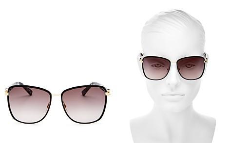 Longchamp Premiere Family Paris Oversized Square Sunglasses, 61mm - Bloomingdale's_2