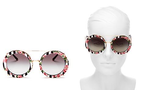 Dolce&Gabbana Oversized Round Sunglasses, 63 - Bloomingdale's_2