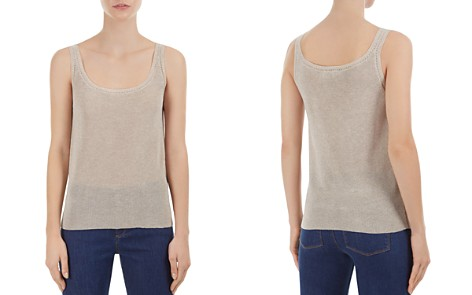 Gerard Darel Forest Openwork-Trim Knit Tank - Bloomingdale's_2