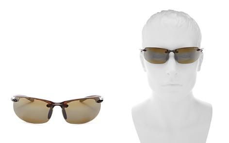 Maui Jim Men's Banyans Polarized Wraparound Sunglasses, 73mm - Bloomingdale's_2