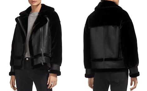 Whistles Mix Faux-Shearling Jacket - Bloomingdale's_2