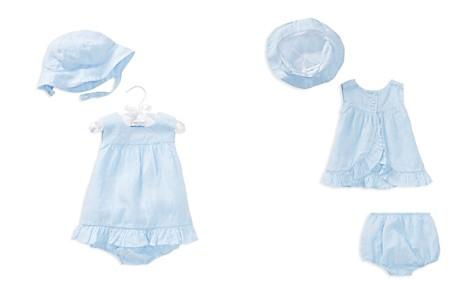 Ralph Lauren Girls' Linen Dress, Bloomers & Hat Set - Baby - Bloomingdale's_2