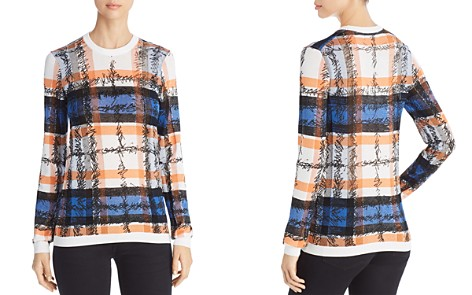 Burberry Parrow Scribble Check Sweater - Bloomingdale's_2