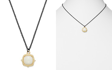 """Armenta 18K Yellow Gold & Blackened Sterling Silver Old World Potch Opal Pendant Necklace, 16"""" - Bloomingdale's_2"""