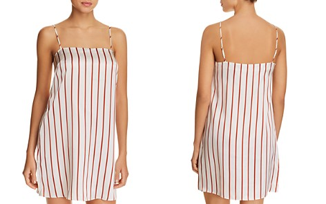 GINIA Striped Silk Chemise - Bloomingdale's_2