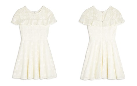 Pippa & Julie Girls' Ruffled Geometric Lace Dress - Big Kid - Bloomingdale's_2