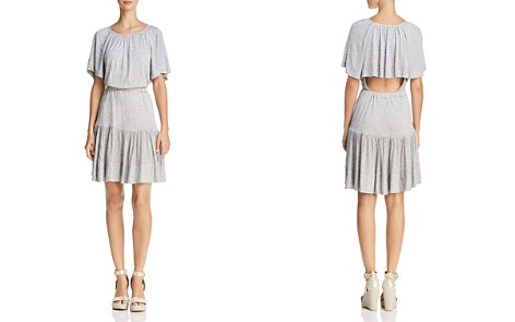 Rebecca Taylor Cutout Jersey Dress - Bloomingdale's_2