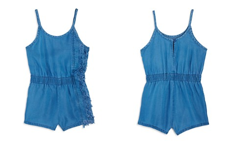 BLANKNYC Girls' Frayed Romper - Big Kid - Bloomingdale's_2